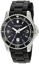 Victorinox Men's 241698 Maverick Analog Display Swiss Quartz Black Watch