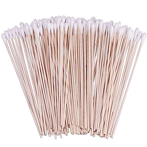 500 Pcs 6 Inch Cotton Swabs with Wooden Handles Cotton Tipped Applicator