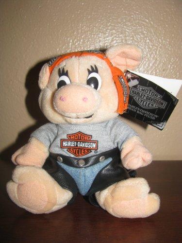 Harley-Davidson Bean Bag Plush, CURLY the Hog