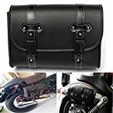 BephaMart Motorcycle Saddle Leather Bag Storage Tool Pouch For Harley Davidson Shipped and Sold by BephaMart