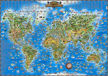 MAP OF THE WORLD ()