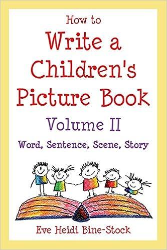 how 2 write a childrens book