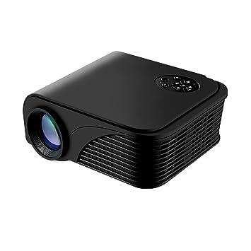 Proyector de Video, proyector LCD Proyector portátil 1080P ...