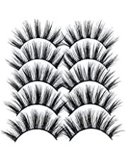 Eyelash Simulation Lashes Magnetic Wimpers Handgemaakt Dramatische Dikke Gekruiste Cluster Simulation Wimpers GL900 5PCS, Beauty Products