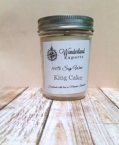 King Cake Scented Soy Candle