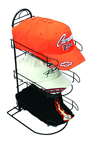 Caps or Similar Types of Headwear Rich Limited CAP-3 Counter Hat Display with 3 Pockets for Displaying Upto 24 Hats