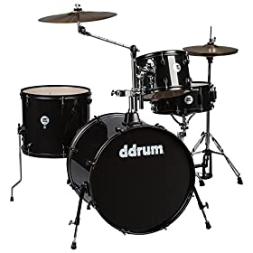 ddrum D2R BLK SPKL D2 Rock Kit with Black Hardware, Black Sparkle 3
