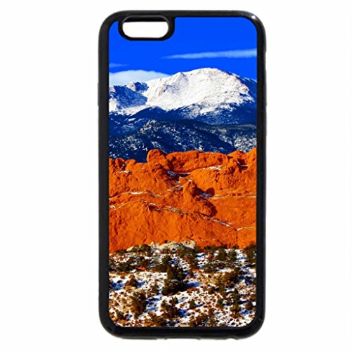 iPhone 6S / iPhone 6 Case (Black) Pike Peaks Mountains, Colorado