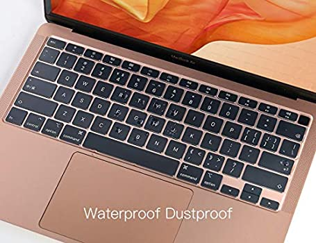 13 MacBook Air Soft-Touch TPU Protective Skin MacBook Air 13 inch Accessories CaseBuy Premium Ultra Thin Keyboard Cover for Newest MacBook Air 13 inch 2020 Release Model A2179 with Touch ID