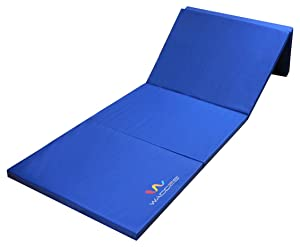 Best Jiu Jitsu Mats - Wacces Pu Leather Gymnastics Gym Fitness Exercise Tumbling/Martial Arts Folding Judo Mat