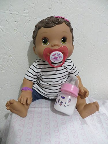 BABY ALIVE CHANGING TIME, WET & WIGGLES, PACIFIER + BOTTLE BALLERINA - Handmade - READ DESCRIPTION Please (Baby Alive Ballerina)