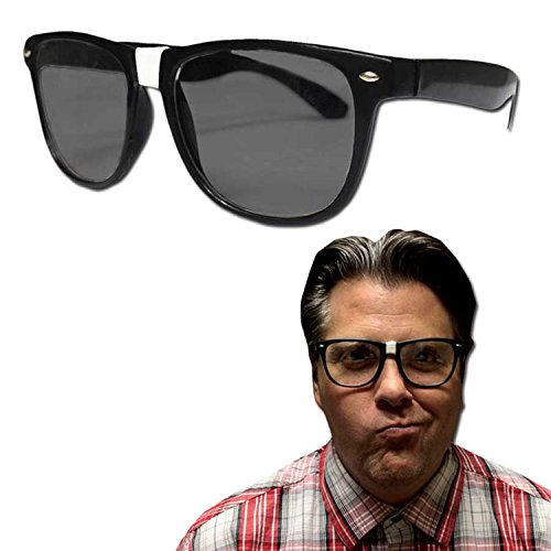 [Black Frame Nerd Glasses - 12 Pack] (Nerd Costumes At Party City)