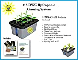 Complete Hydroponic System DWC Grow Box and Lid ~ # 3-6 H2OtoGro Review