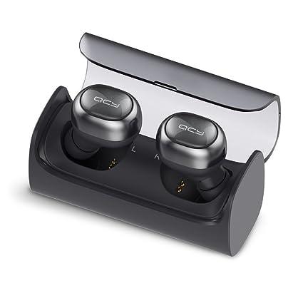 Auriculares inalámbricos qcy Q29 Mini Dual V4.1 Bluetooth auriculares estuche de carga con 12 horas ...