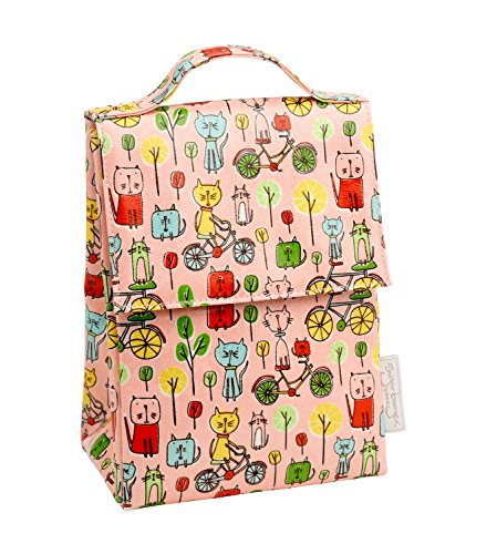 Sugarbooger Classic Lunch Sack, Go Kitty ()
