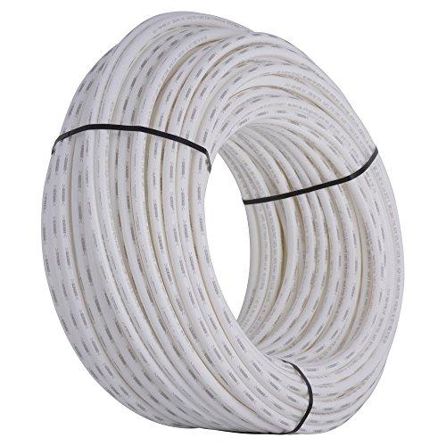 SharkBite PEX Pipe Tubing 3/4 Inch, White, Flexible Water Tube, Potable Water, U870W500, 500 Foot Coil