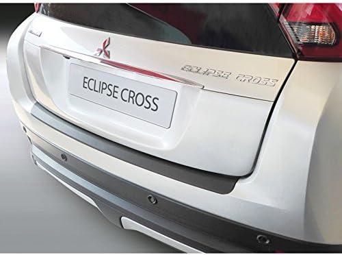 Noir ABS Protection de seuil arri/ère Mitsubishi Eclipse Cross 10//2017