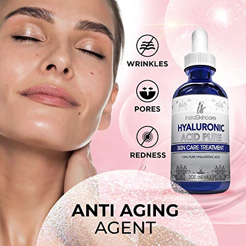 515chQVYsmL - Hyaluronic Acid for Face (2 oz) - 100% Pure Medical Quality Clinical Strength Formula - Anti aging formula for your skin