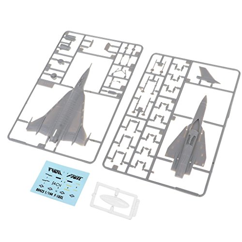 MagiDeal 1:144 Military Aircraft America F-16XL Model Building Plane Children Gift