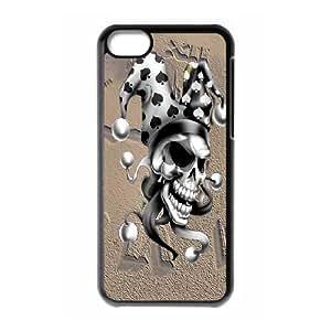 iPhone 5C Phone Case Skull Ny3175