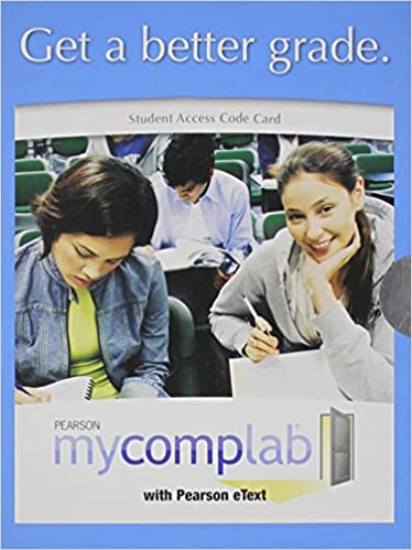 MyCompLab with Pearson eText -- Valuepack Access Card