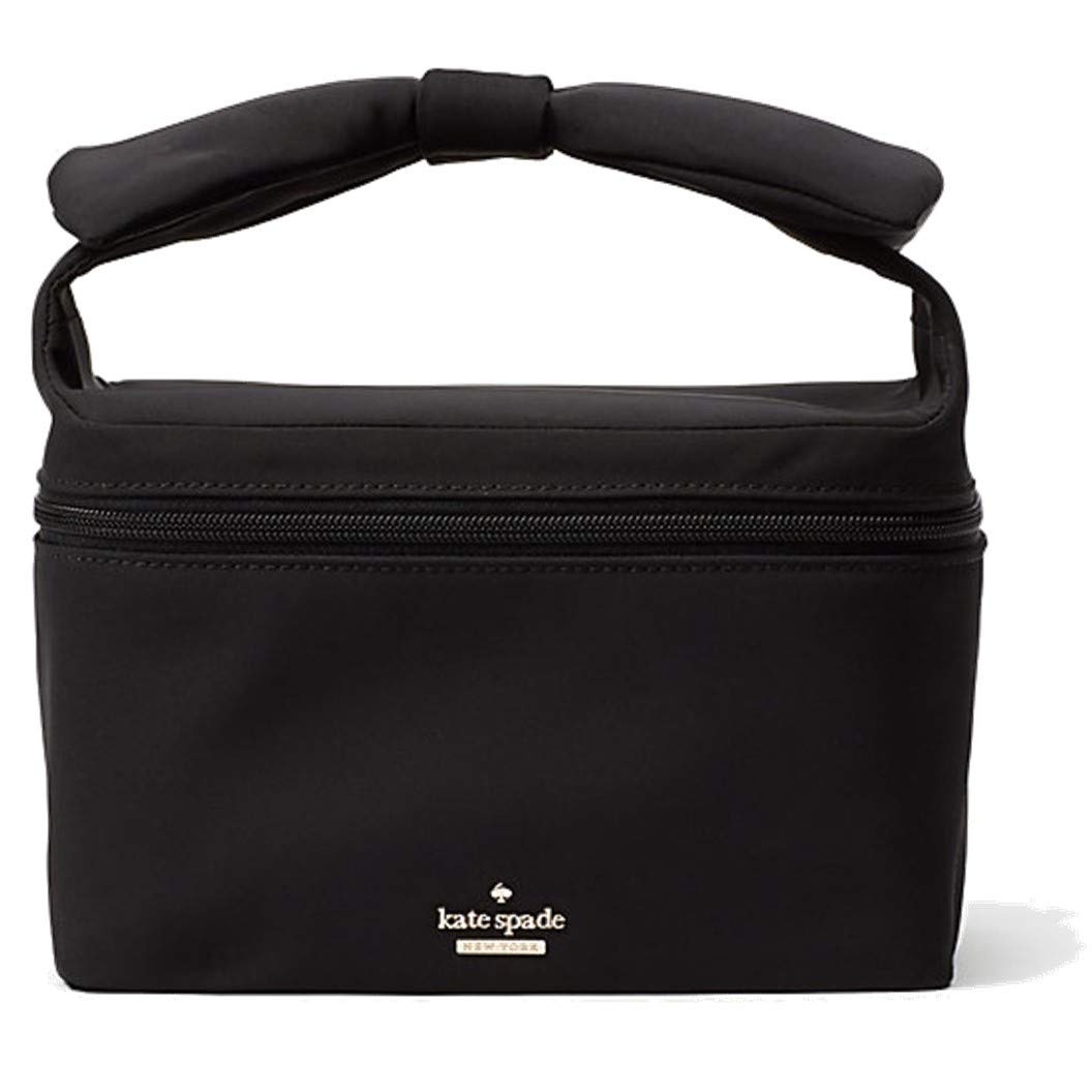 Kate Spade New York Women's Haring Lane Jolie Cosmetic Makeup Case Bag (Black)