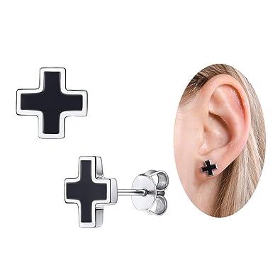 ab73ebaf028ef Amazon.com: Novelty one Week Earrings Set 7 Pairs, Simple 925 ...