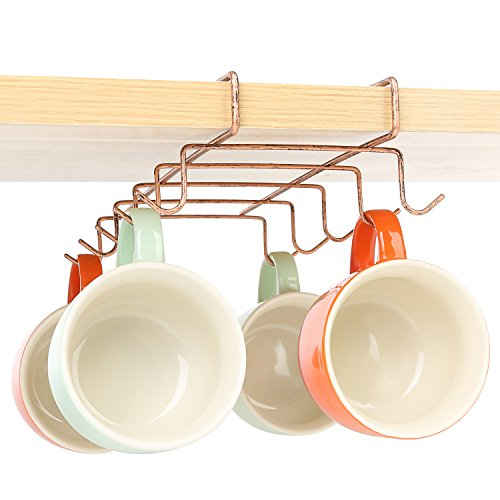 Under Cabinet Coffee Cup Rack   3