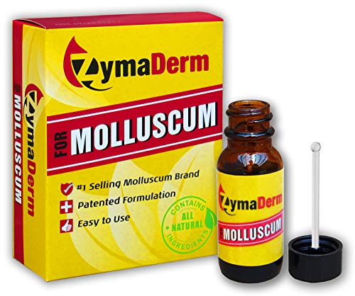 ZymaDerm for Molluscum, Natural, Fast, Gentle, Painless - FDA Registered, Made in USA, 13 milliliter