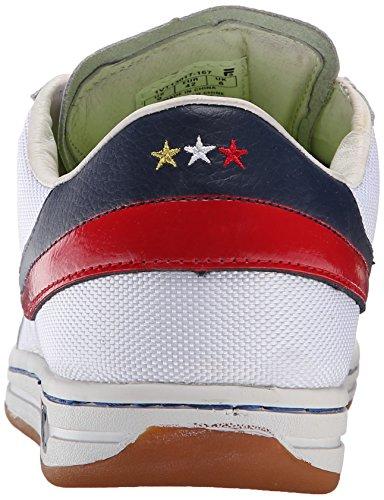 Sneaker Classique Tennis Fila Homme Blanc / Fila Marine / Or Métallique