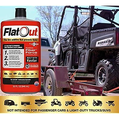 MULTI SEAL 20110 FlatOut Tire Additive (Multi-Purpose Formula), for Boat Trailers, ATV/UTVs, Golf Carts, Dirt Bikes, Riding Lawn Mowers, Snow Blowers and more, 32. fluid_ounces: Automotive