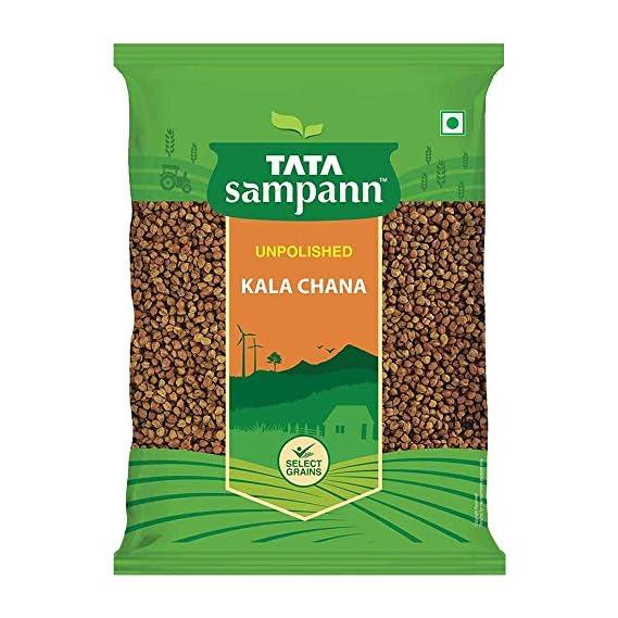 Tata Sampann Unpolished Kala Chana, 1kg