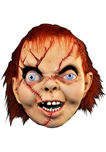 Child's Play The Bride Of Chucky: Chucky Latex (The Bride Of Chucky Halloween Costumes)