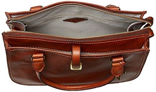 Fossil Women's Ryder Leather Satchel Purse Handbag 5