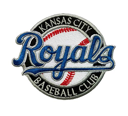 Royals Baseball Fully Embroidered Iron On Patch 3.5