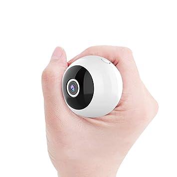 LLCOFFGA 1080P HD Mini CáMara EspíA con ImáN Carga USB Seguridad Vigilancia CáMara Oculta Infrarrojo VisióN Nocturna Alarma De DeteccióN De Movimiento ...