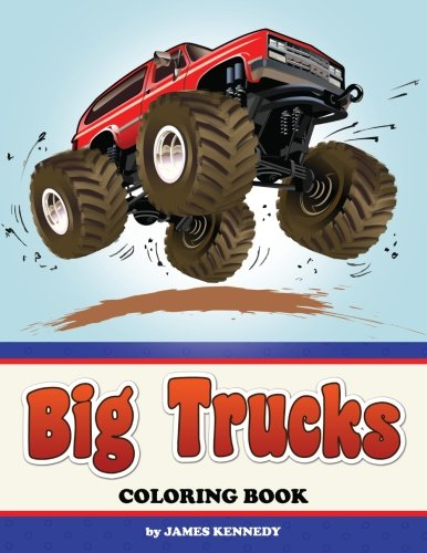 Big Trucks Coloring Book ()