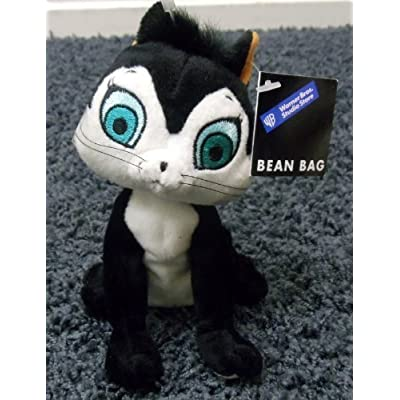 """Warner Brothers Loony Tunes Cartoon Character Pussyfoot Pussy Foot 7"""" Plush Bean Bag Doll: Toys & Games"""