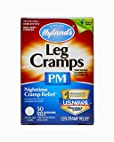 Hyland's Leg Cramps PM Tablets, Natural Relief of Calf Cramps, Foot Cramps and Leg Cramps at Night, 50 Count