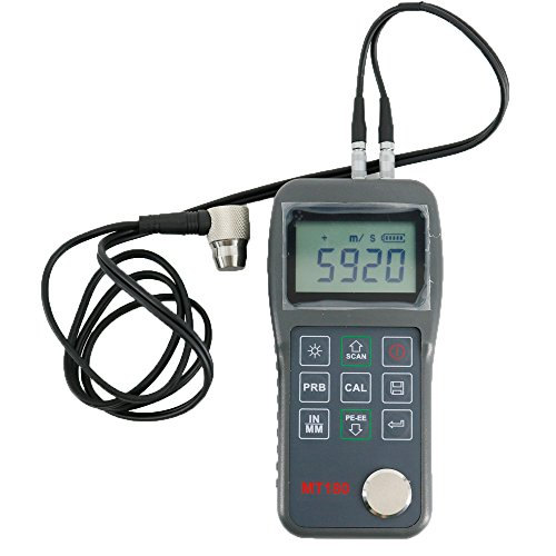 Graigar MT180 Ultrasonic Thickness Meter Gauge Tester Measuring Range 0.65mm-600mm (Meters Thickness Ultrasonic)