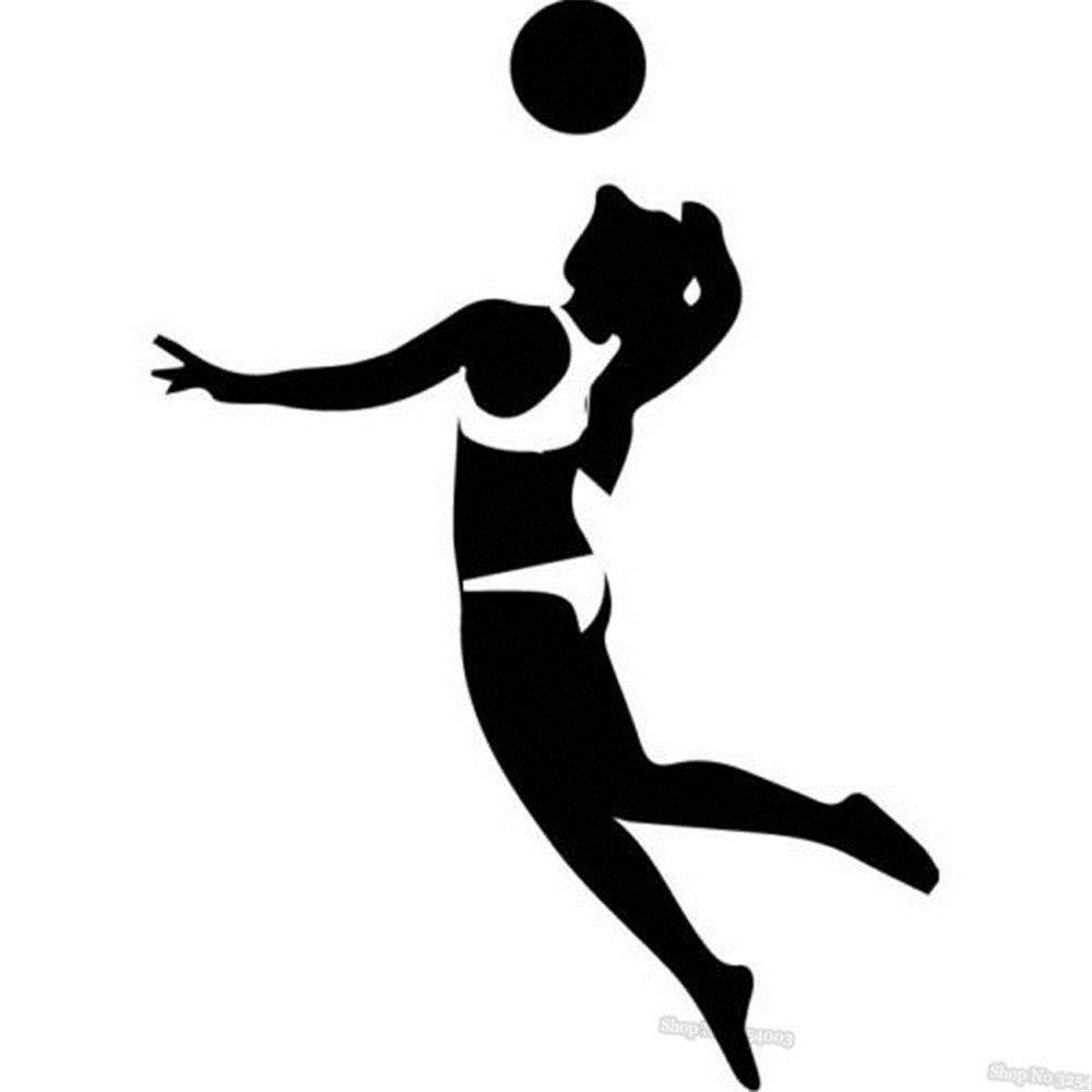 pegatinas de pared tortugas ninja Deporte voleibol jugador ...
