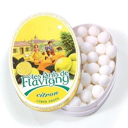 Lemon - Abbaye de Flavigny Tin Anise drops all natural 1.8 oz, Sixteen by Abbay de Flavigny ()