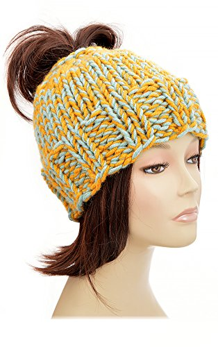 Ponytail Hat Pattern Knitting Pattern Ponytail Beanie Pattern Beanie With  Ponytail Hole Womens Hat Hole Hat 97d3f99529c