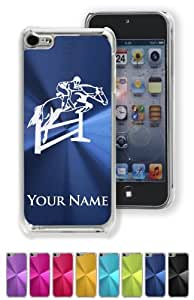 Case/Cover for iphone 4s - HORSE HURDLES - Personalized for FREE (Click the CONTACT SELLER link after purchase and send a message with your case color and engraving request)