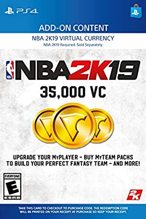 NBA 2K19: 35000 VC Pack - PS4 [Digital Code]