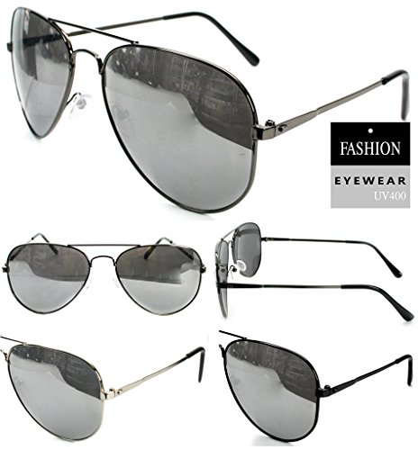 DINY Home & Style Wholesale Lot of 12 METAL AVIATOR STYLE Sunglasses UV 400