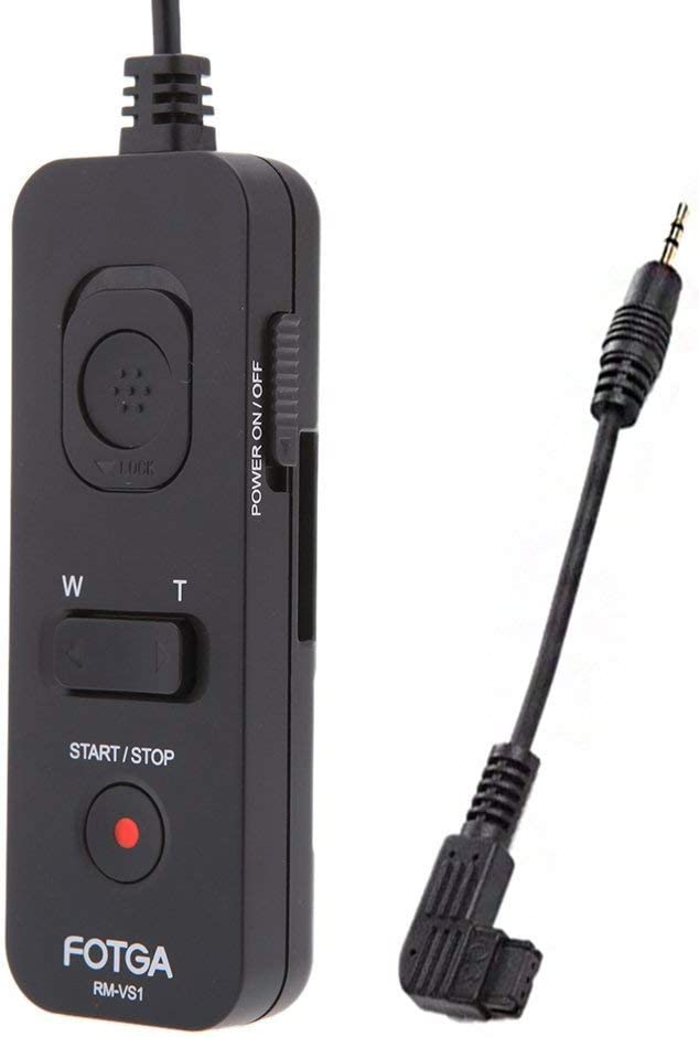 OUYAWEI Useful for RM-VS1 Remote Control Shutter Release Cord with Multi Terminal Cable Universal for Sony Camera