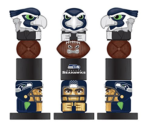 Home Decor Seattle Seahawks - Team Sports America NFL Tiki Totems (16 Inches, Seattle Seahawks)