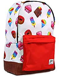 School Backpack for Boys Girls | Durable Canvas Material Bookbag for Elementary Junior Middle & High School -...