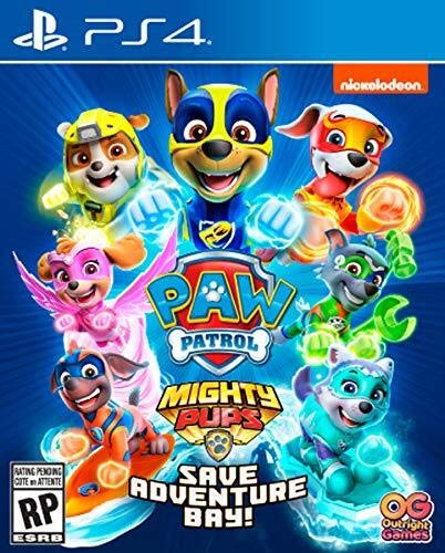 Paw Patrol Mighty Pups Save Adventure Bay - PlayStation 4